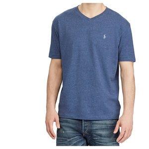 POLO RALPH LAUREN V-Neck Short Sleeve T-Shirt Tee